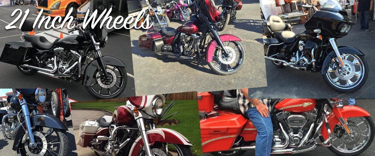 21 inch motorcycle wheels
