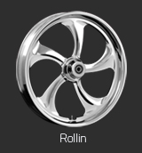 Rollin Chrome wheel