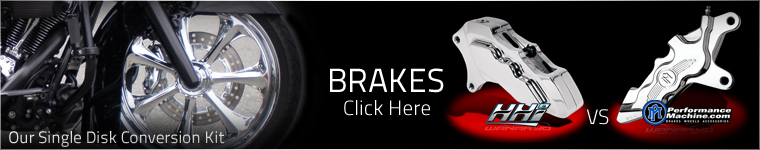 Harley Bagger Brakes and Brake Packages