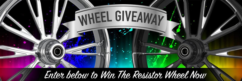 Harley Wheel Giveaway